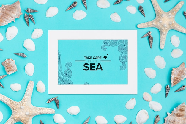 Prenez soin de l'océan avec un cadre