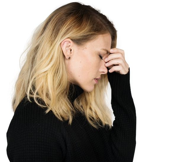 Problème d'insuffisance stressé stress insatisfaisant concept