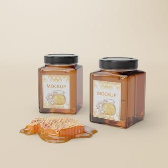 Produit de miel délicieux