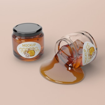 Produit de miel liquide