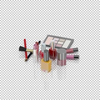 Produits cosmétiques isométriques