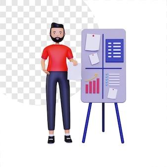 Projets d'organisation 3d avec des conseils