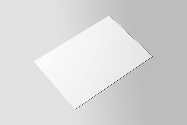 Prototype d'affiche de dépliant a4 unique