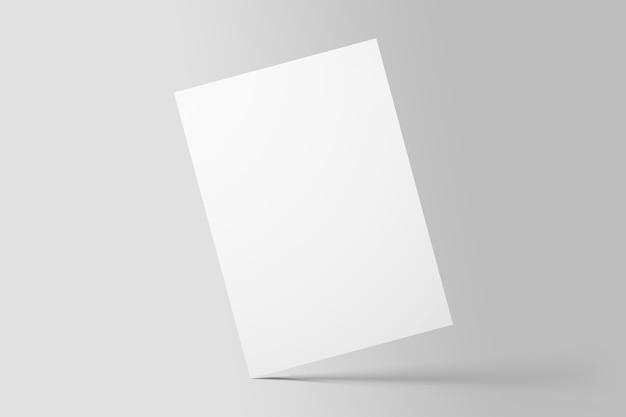 Prototype d'affiche de flyer a4 simple