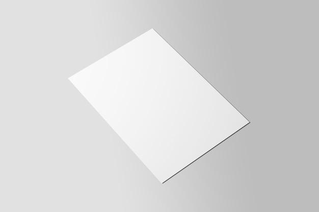 Prototype de flyer affiche a4 réaliste