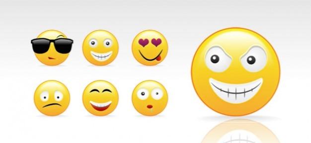 Psd smileys création kit