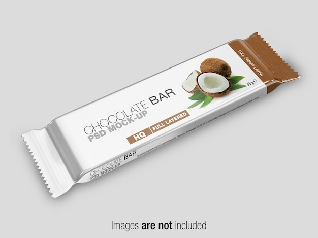 Psd snack bar mockup