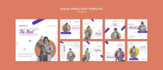 Publication itinérante sur les réseaux sociaux