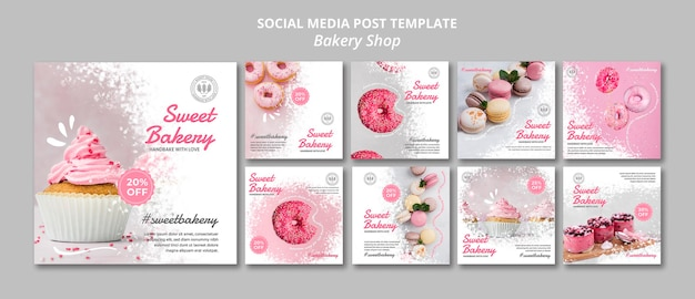 Publication sur les médias sociaux de la boulangerie