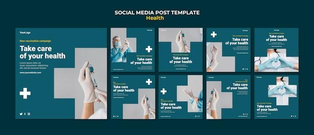 Publication sur les médias sociaux sur les soins de santé