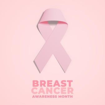 Publication sur les réseaux sociaux du mois de la sensibilisation au cancer du sein