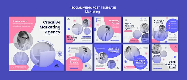 Publications instagram de stratégie marketing