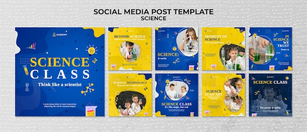 Publications sur les réseaux sociaux en classe de sciences