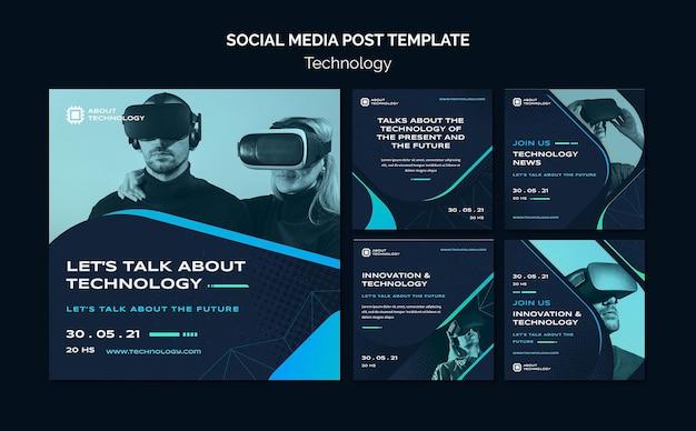 Publications sur les réseaux sociaux en réalité virtuelle