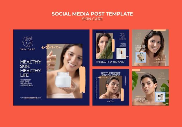 Publications sur les réseaux sociaux sur les soins personnels