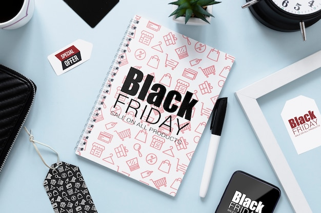 Publicité du vendredi noir pour la campagne