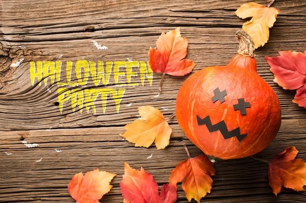 Pumpking décoratif pour le jour d'halloween