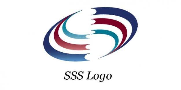 Rayures circulaire conception de logo