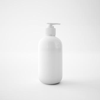 Récipient de savon blanc