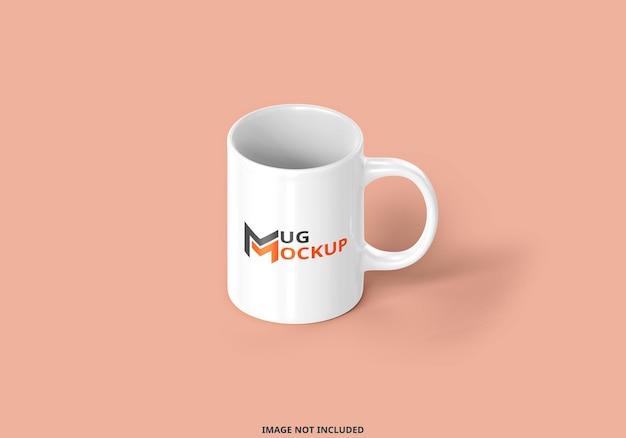 Rendu 3d de conception de maquette de tasse