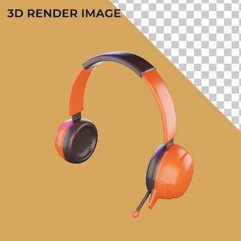 Rendu 3d des écouteurs