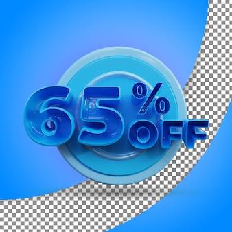Rendu 3d isolé rendu 3d réaliste produit offert à 65 %