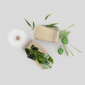 Rendu 3d isotherme grosery bag