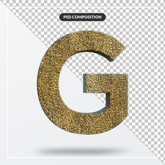 Rendu alphabet 3d de l'effet de texte en pierre