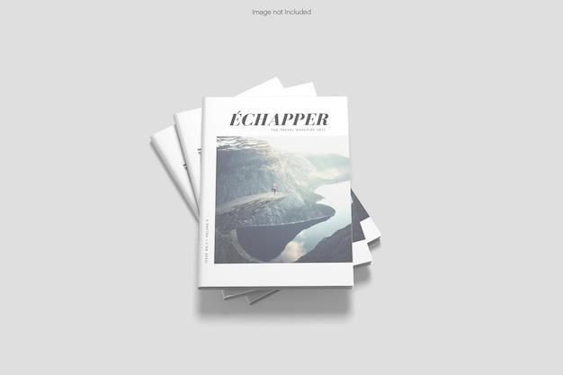 Rendu de conception de maquette de brochure de couverture