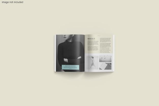Rendu de conception de maquette de magazine