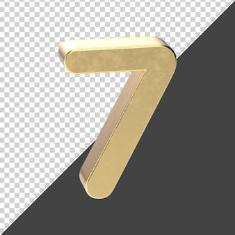 Rendu du nombre d'or 7