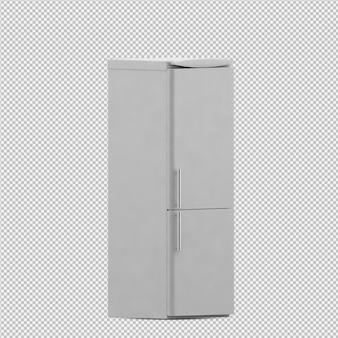 Rendu isométrique réfrigérateur 3d