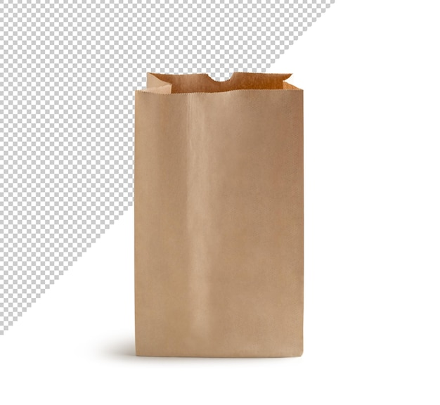 Rendu de sac en papier recyclable