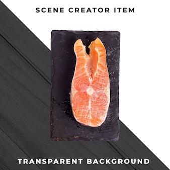Repas de fruits de mer transparent psd