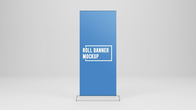 Roll up banner maquette