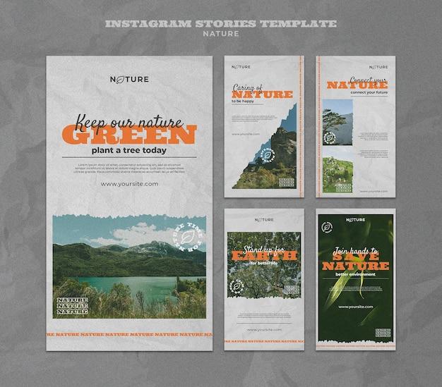 Sauvez les histoires instagram de la nature