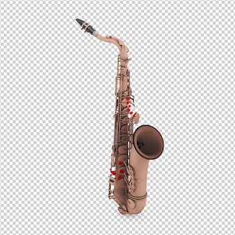 Saxophone isométrique