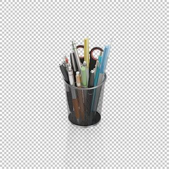 Set de crayons isométriques