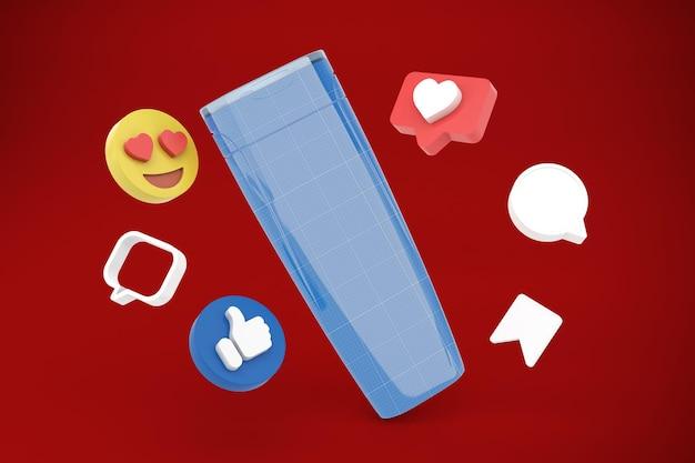 Shampoing réseaux sociaux
