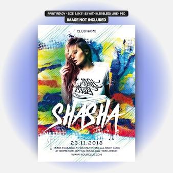 Shasha night party