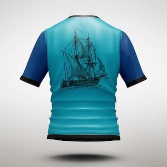 Shirt maquette de conception