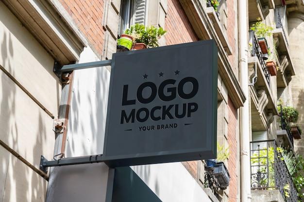 Signe de marque de magasin