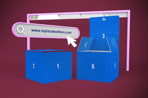 Site web de la boîte