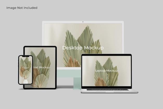 Site web de maquettes réactives pour plusieurs appareils