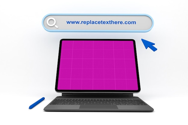 Site web de la tablette