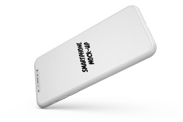 Smartphone maquette isolé