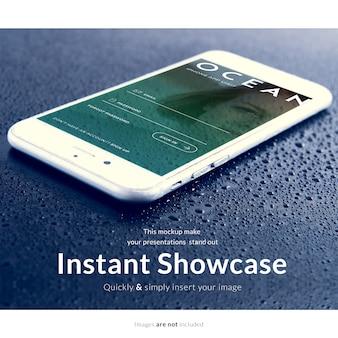Smartphone mock up