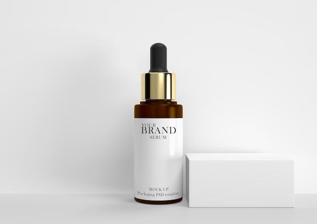 Soins de la peau, produits cosmétiques hydratants haut de gamme premium psd.