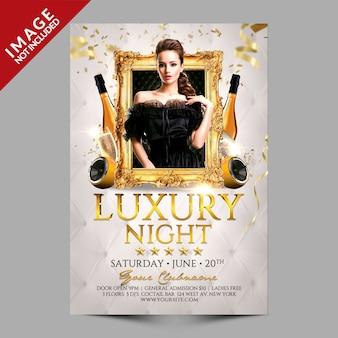 Soirée de luxe