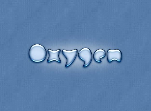 Souligne l'oxygène liquide progressif en douceur